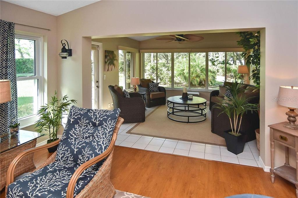 Great room to Florida room - Villa for sale at 719 Brightside Crescent Dr #36, Venice, FL 34293 - MLS Number is N6102753