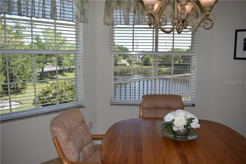 Great view of the water from your dining room. - Condo for sale at 904 Casa Del Lago Way #904, Venice, FL 34292 - MLS Number is N6105434