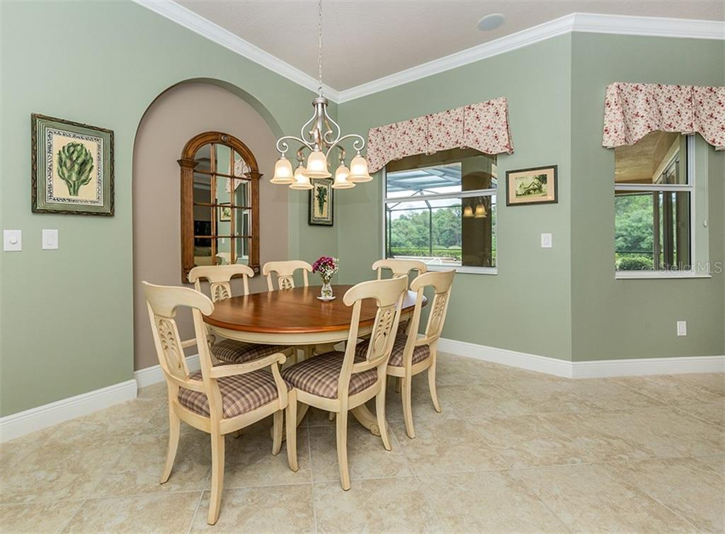 Dinette - Single Family Home for sale at 189 Portofino Dr, North Venice, FL 34275 - MLS Number is N6106071