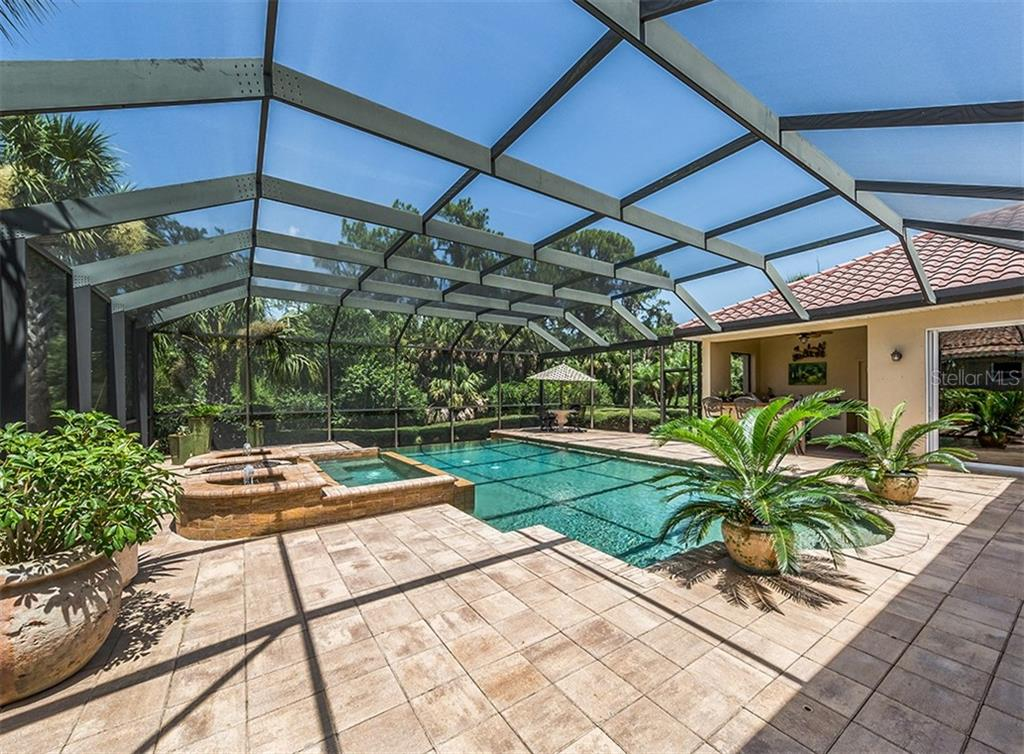 Pool - Single Family Home for sale at 106 Vicenza Way, North Venice, FL 34275 - MLS Number is N6106168