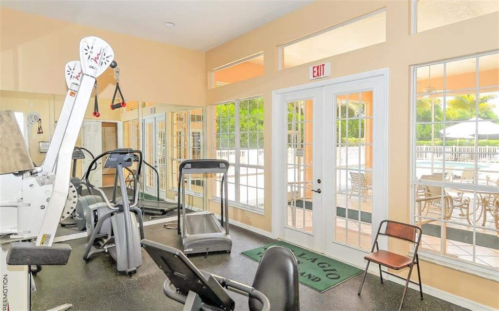 Community fitness - Single Family Home for sale at 226 Rio Terra, Venice, FL 34285 - MLS Number is N6107320