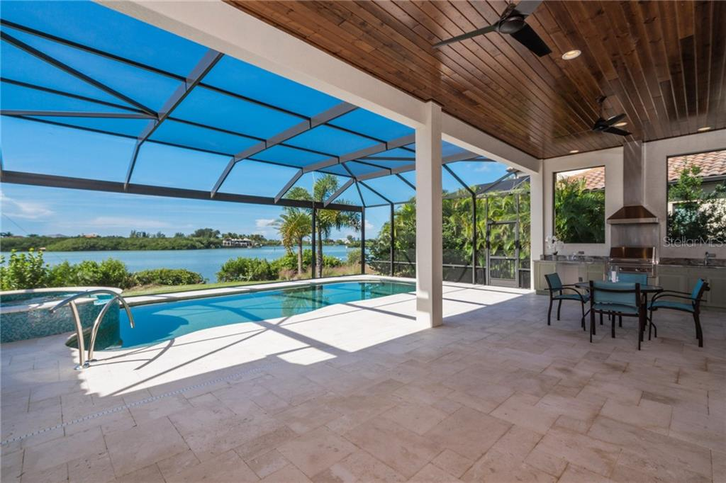 Lanai, pool - Single Family Home for sale at 4919 Topsail Dr, Nokomis, FL 34275 - MLS Number is N6107792