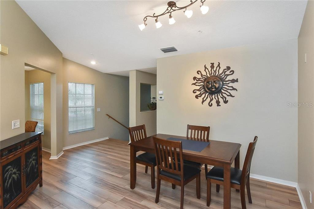Dining room - Condo for sale at 817 Montrose Dr #201, Venice, FL 34293 - MLS Number is N6107943
