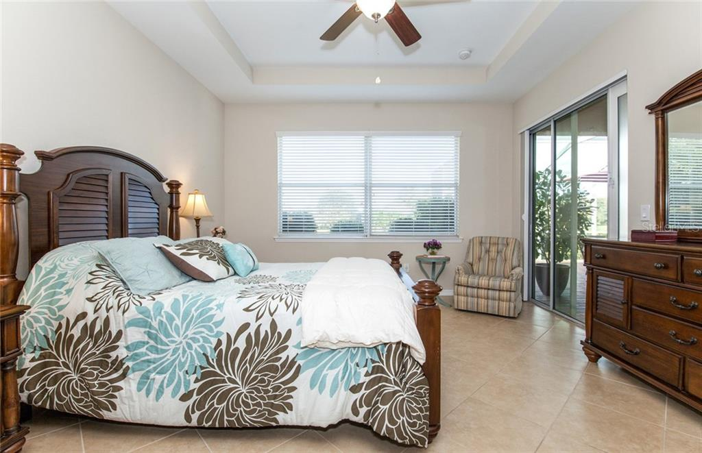 Master bedroom - Single Family Home for sale at 5392 Layton Dr, Venice, FL 34293 - MLS Number is N6109506