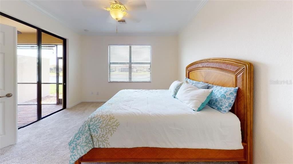 MASTER BEDROOM - Villa for sale at 20385 Benissimo Dr, Venice, FL 34293 - MLS Number is N6109983