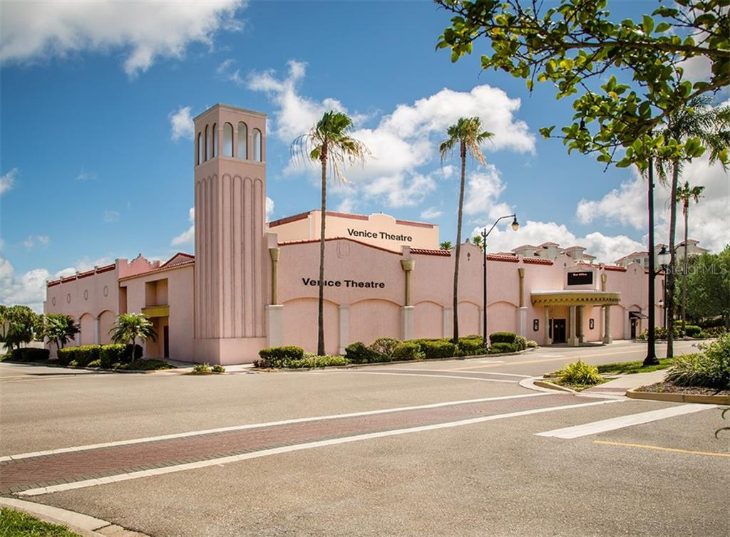 Venice Theatre - Single Family Home for sale at 404 Gulf Breeze Blvd, Venice, FL 34293 - MLS Number is N6110481