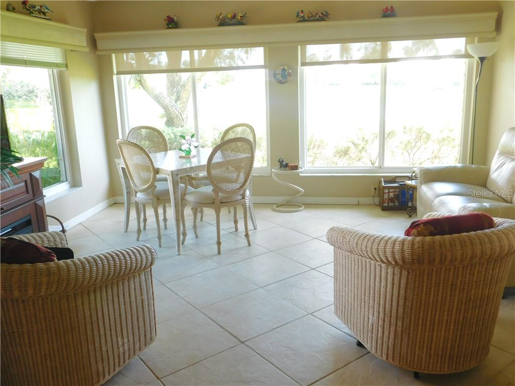 Florida Room - Villa for sale at 743 Harrington Lake Dr N #29, Venice, FL 34293 - MLS Number is N6111290