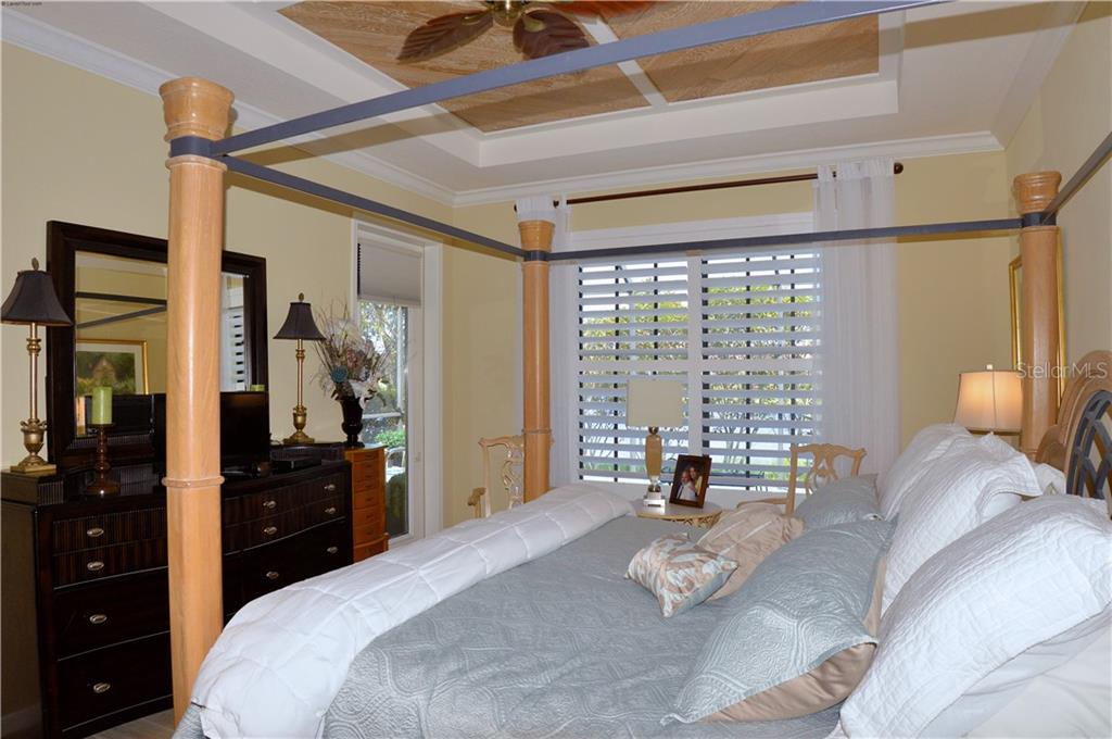 Master bedroom - Villa for sale at 20117 Tesoro Dr, Venice, FL 34293 - MLS Number is N6111641