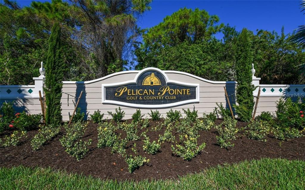 Entrance monument - Single Family Home for sale at 601 Cockatoo Cir, Venice, FL 34285 - MLS Number is N6111658