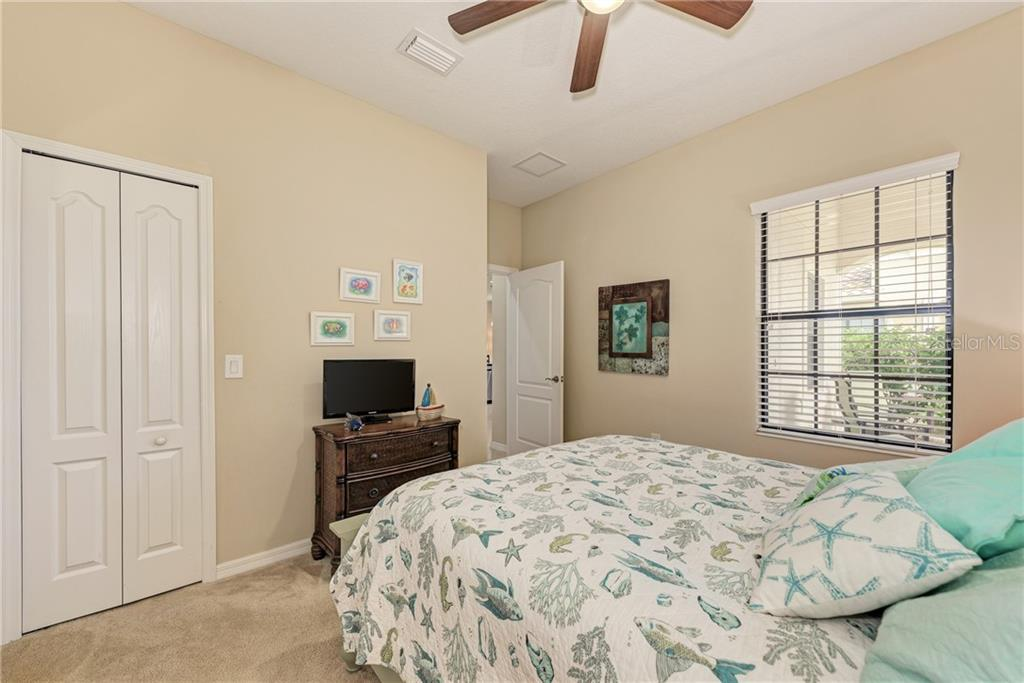 Bedroom #2/Walk -in Closet - Villa for sale at 11433 Okaloosa Dr, Venice, FL 34293 - MLS Number is N6113314
