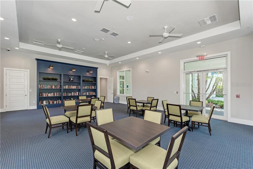 Library - Villa for sale at 11433 Okaloosa Dr, Venice, FL 34293 - MLS Number is N6113314