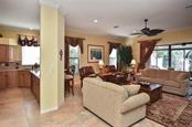 Kitchen/living room - Single Family Home for sale at 769 Sawgrass Bridge Rd, Venice, FL 34292 - MLS Number is N5916484