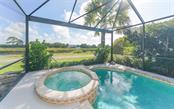 View of intracoastal from pool - Single Family Home for sale at 226 Rio Terra, Venice, FL 34285 - MLS Number is N6107320