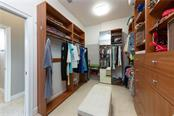 Master Walk in Closet - Single Family Home for sale at 714 Shakett Creek Dr, Nokomis, FL 34275 - MLS Number is N6107563