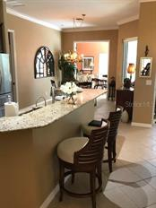 Breakfast bar - Single Family Home for sale at 19694 Cobblestone Cir, Venice, FL 34292 - MLS Number is N6109367
