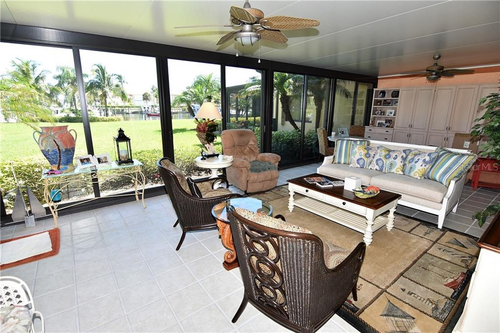 Two sided, four season, wind resistant lanai - Condo for sale at 3210 Southshore Dr #11a, Punta Gorda, FL 33955 - MLS Number is C7402449