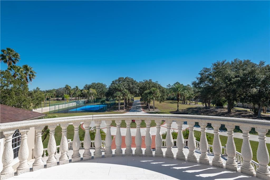FRONT BALCONY VIEW - Single Family Home for sale at 13000 Windcrest Dr, Port Charlotte, FL 33953 - MLS Number is C7410459