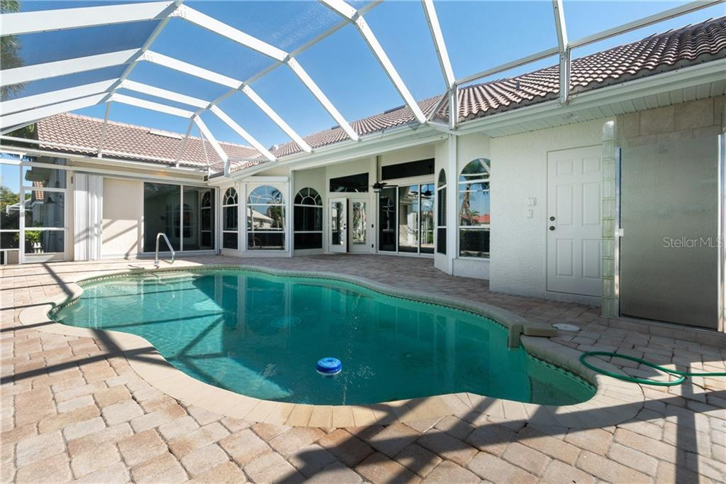 Lovely free form pool with pool bath. - Single Family Home for sale at 1309 Casey Key Dr, Punta Gorda, FL 33950 - MLS Number is C7413790