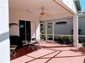 VIEW OF LANAI, POCKETING SLIDERS TO MASTER - Single Family Home for sale at 26442 Feathersound Dr, Punta Gorda, FL 33955 - MLS Number is C7412660
