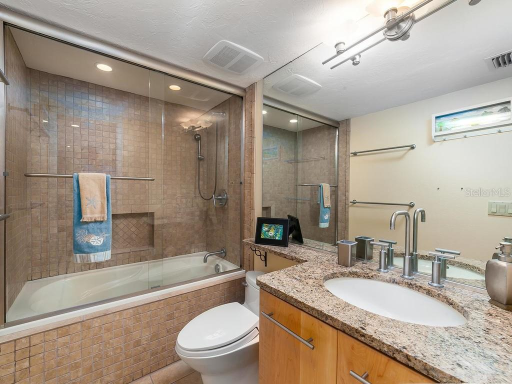 Updated guest bathroom - Condo for sale at 20 Whispering Sands Dr #301, Sarasota, FL 34242 - MLS Number is A4190302