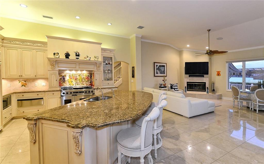 Your kitchen is open, spacious and waiting for you to experience the gourmet chef within! - Single Family Home for sale at 5824 Tidewood Ave, Sarasota, FL 34231 - MLS Number is A4205461