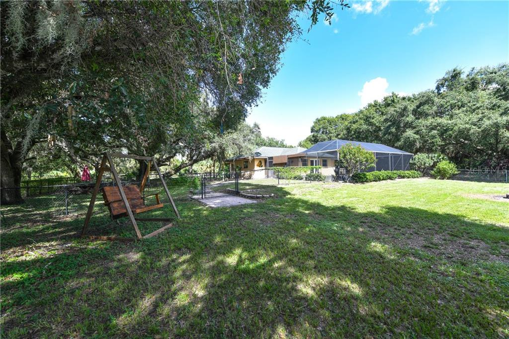 Spacious backyard. - Single Family Home for sale at 2045 Frederick Dr, Venice, FL 34292 - MLS Number is A4416740