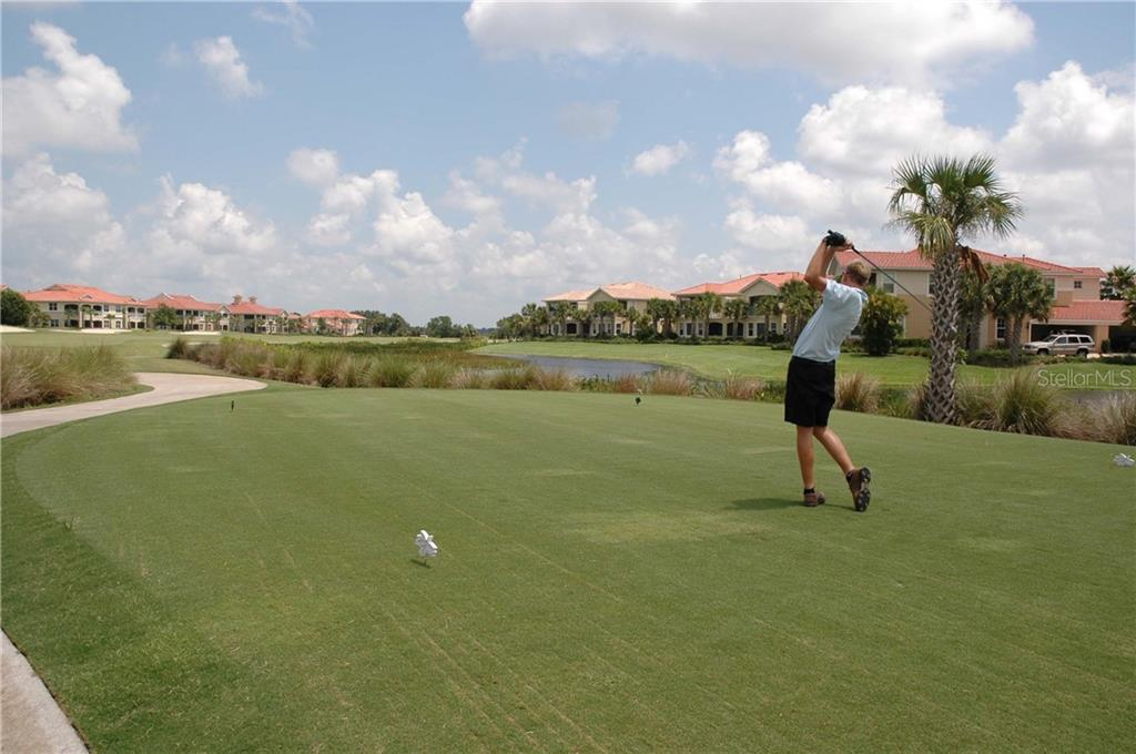 8th Tee box. - Condo for sale at 9453 Discovery Ter #201c, Bradenton, FL 34212 - MLS Number is A4423314