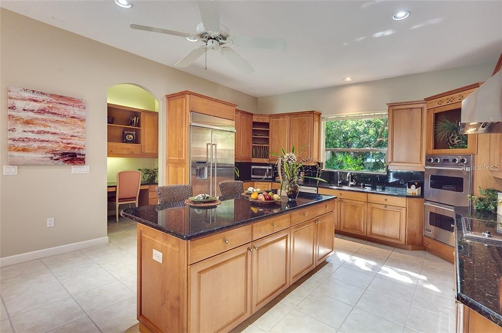 Your kitchen has wonderful work space. - Single Family Home for sale at 2972 Jeff Myers Cir, Sarasota, FL 34240 - MLS Number is A4424133