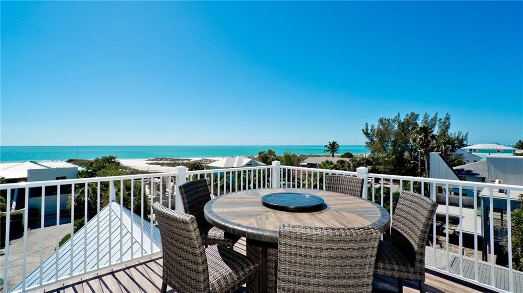 Roof top deck - Single Family Home for sale at 720 North Shore Dr, Anna Maria, FL 34216 - MLS Number is A4428062