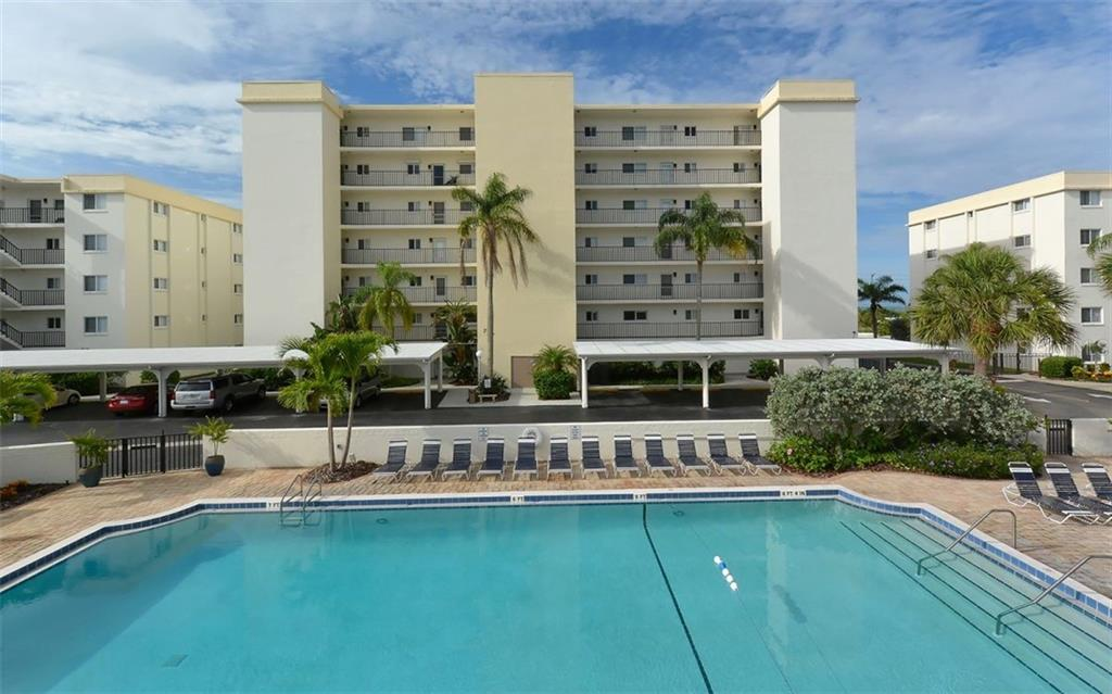 Heated Pool. - Condo for sale at 797 Beach Rd #215, Sarasota, FL 34242 - MLS Number is A4430524