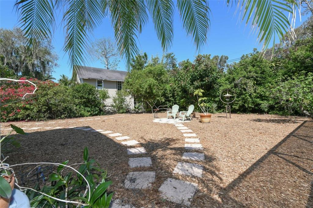 Spacious low maintenance back yard has unlimited potential. - Single Family Home for sale at 7727 Westmoreland Dr, Sarasota, FL 34243 - MLS Number is A4430900