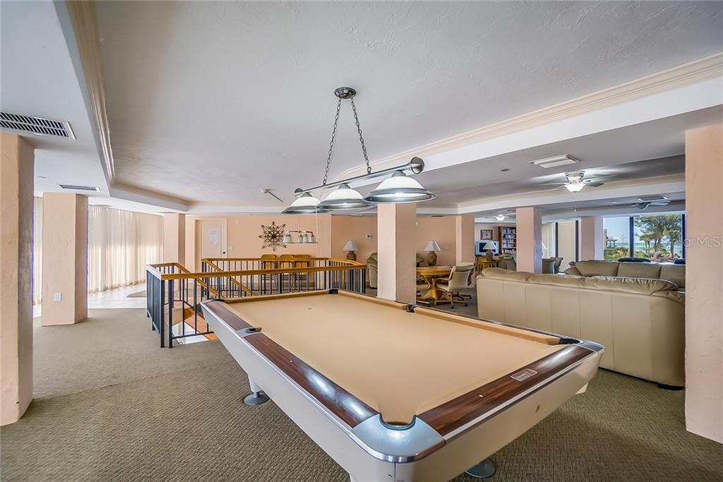 Community Clubhouse/Rec Room - Condo for sale at 20 Whispering Sands Dr #102 & 103, Sarasota, FL 34242 - MLS Number is A4441587