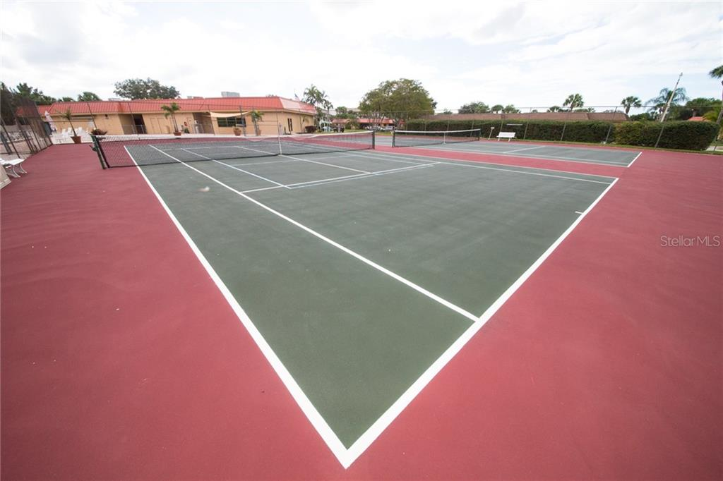 Shuffleboard courts. - Condo for sale at 4001 Catalina Dr, Bradenton, FL 34210 - MLS Number is A4443126