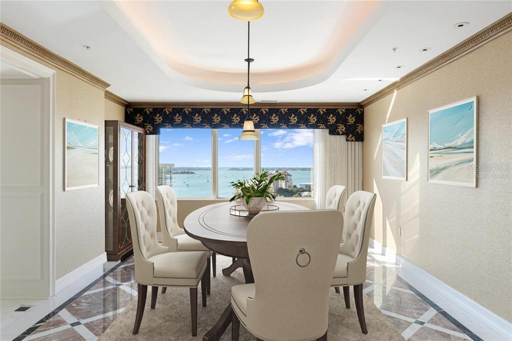 Virtually staged - Condo for sale at 1111 Ritz Carlton Dr #1602, Sarasota, FL 34236 - MLS Number is A4450447