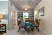 Tiger Dining Room. - Single Family Home for sale at 523 Beach Rd, Sarasota, FL 34242 - MLS Number is A4446354