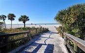 Entrance walk to the white sands of Siesta Beach. - Single Family Home for sale at 5365 Calle Florida, Sarasota, FL 34242 - MLS Number is A4449055